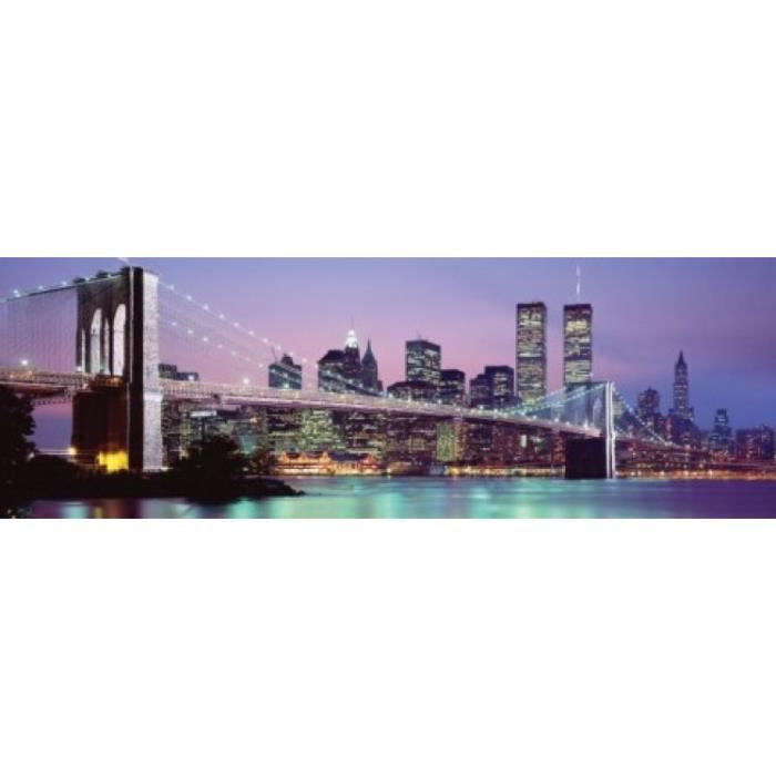 New york poster de porte skyline 53 x 158 cm achat for Decoration porte new york