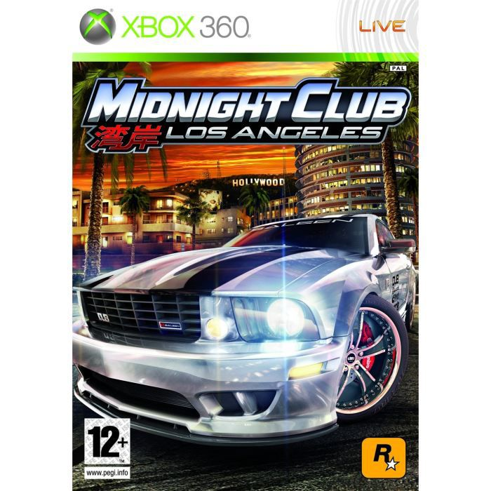 midnight club los angeles jeu console xbox360 achat vente jeux xbox 360 midnight club. Black Bedroom Furniture Sets. Home Design Ideas
