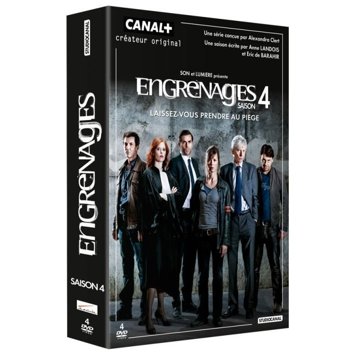 DVD FILM DVD Engrenages - saison.4