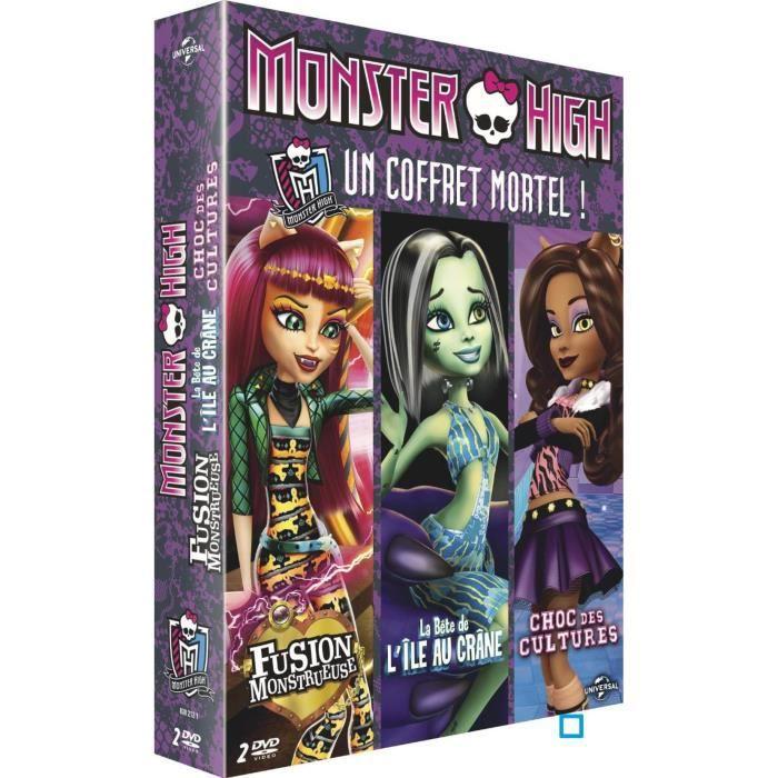 DVD Coffret monster high : fusion monstrueuse ...