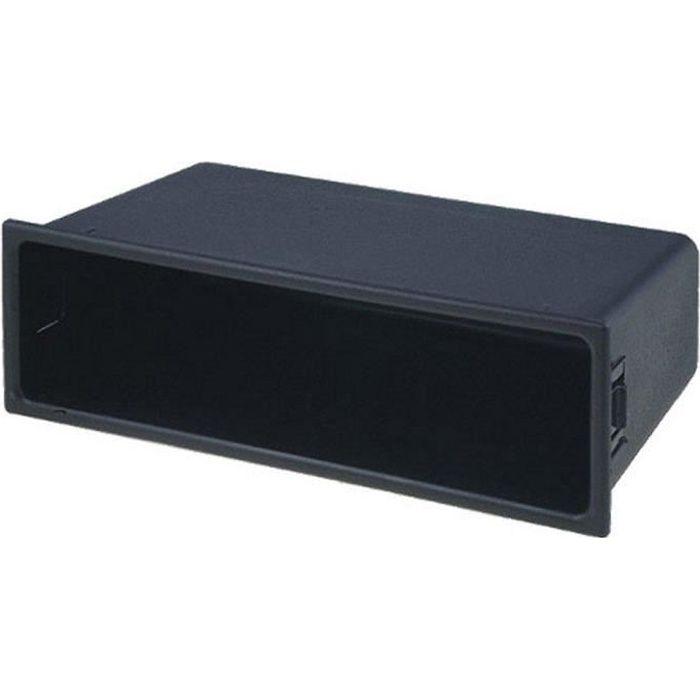 ADN-FA-0319 Facade Autoradio Reducteur 2 Din en 1 Din Vide Poche - 188x60x102mm - Adnauto