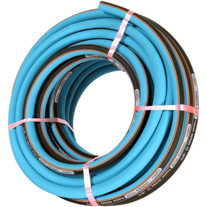 Tuyau d'arrosage 1-2-(12.5mm) Tuyau de Lavage de Voiture antidéflagrant en PVC Haute Pression (Taille: 30M (98.4FT))[664]