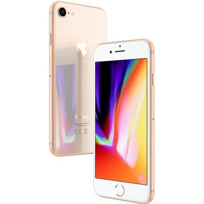 APPLE Iphone 8 64Go Or - Reconditionn  - Tr s bon  tat