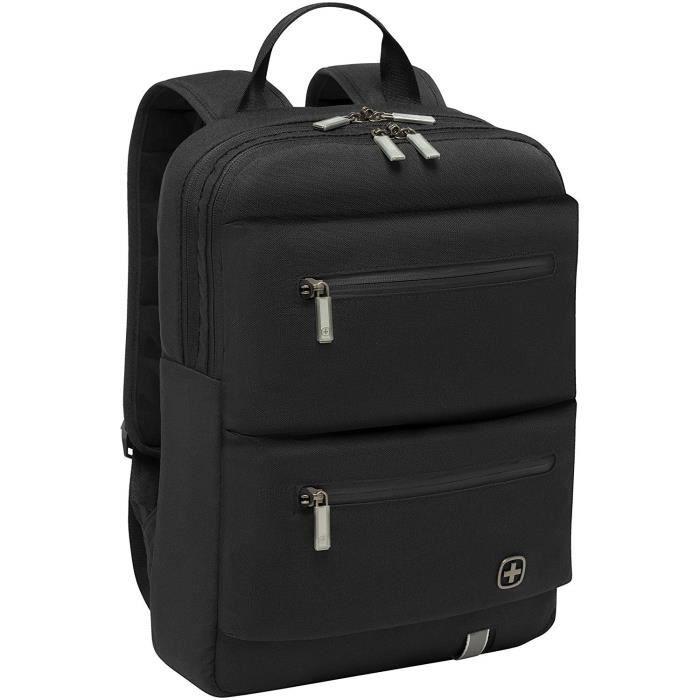 Sacs à dos pour ordinateur portable WENGER 605076 Sac à Dos avec Poche pour Ordinateur Portable-Tablette Noir 42667