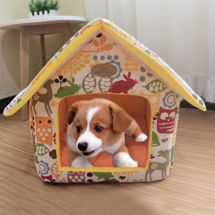 SA Portable intérieur Pet Bed Niche douce et chaude et confortable Chat Chien Sweet Room @Fournitures pour ani..... - SABCK0119A1810