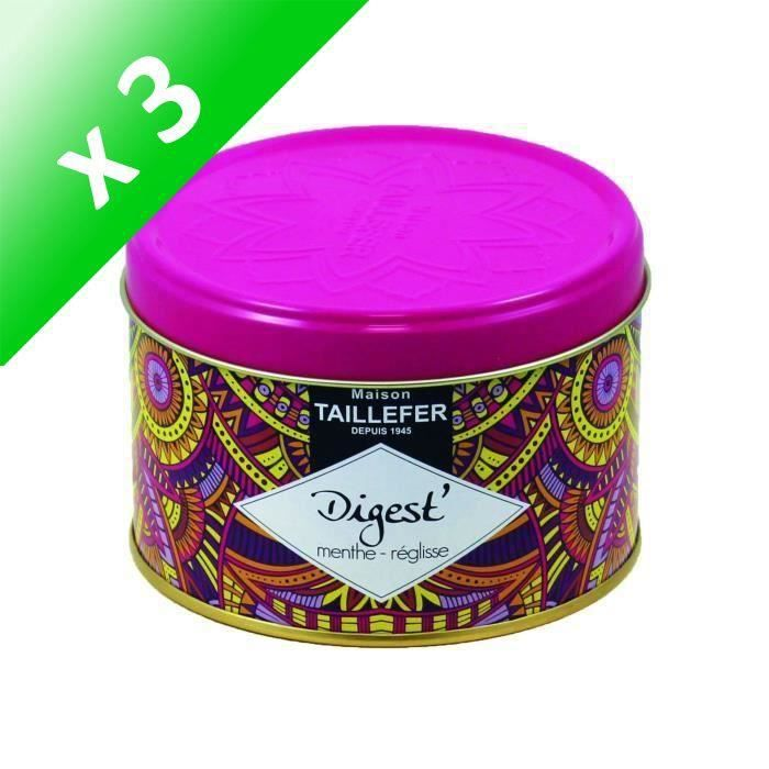 [LOT DE 3] MAISON TAILLEFER Infusion Digest - Boîte de 80 g