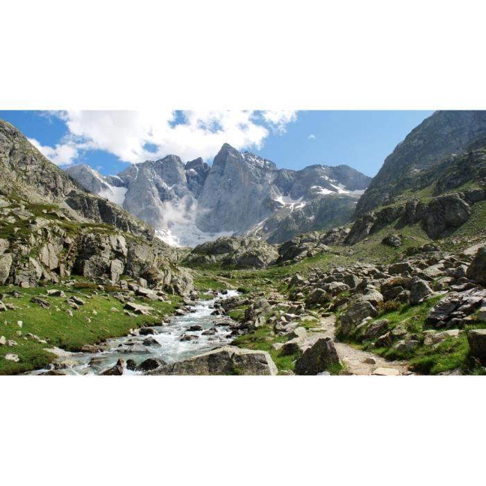 Poster Affiche Montagnes Pyrenees France Nature Paysage Decoration 31cm x 57cm