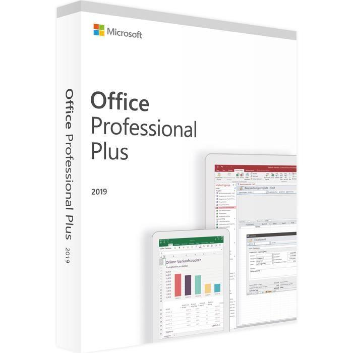 Microsoft Office Professionnel plus - 1PC