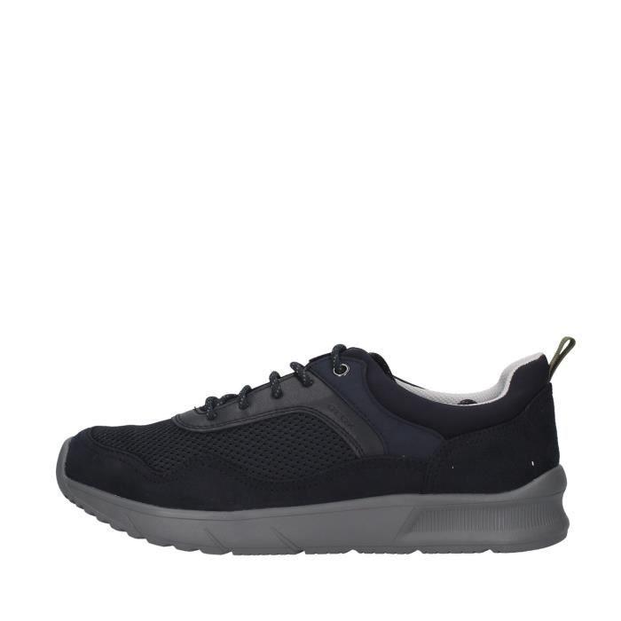 Geox U029UB014U5 chaussures de tennis faible homme BLEU MARIN