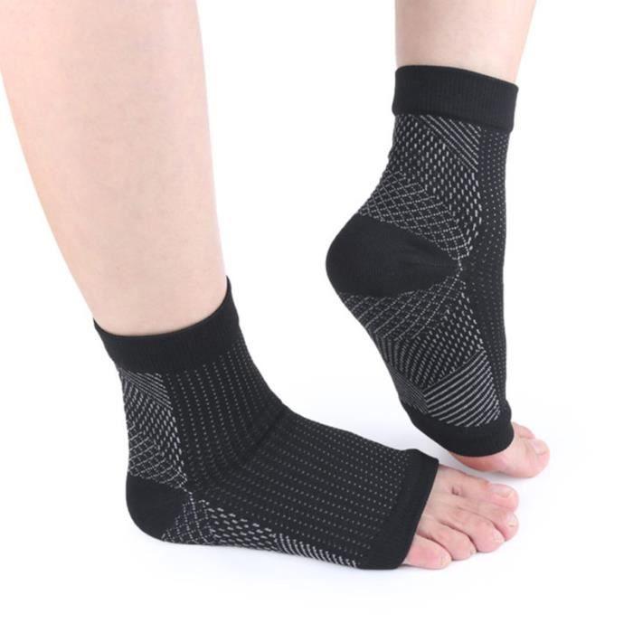 Sport professionnel Angle du pied Anti-Fatigue Manchon de CHAUSSETTES DE RECUPERATION - CHAUSSETTES DE