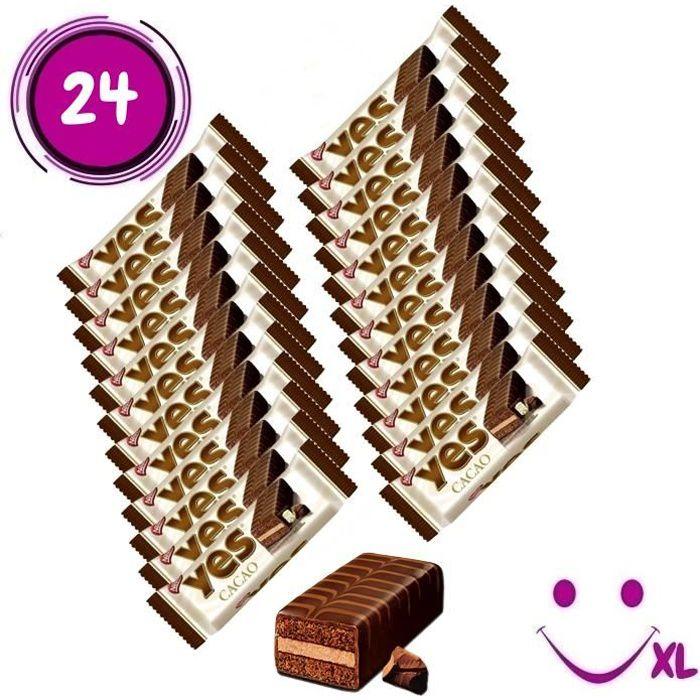 Nestlé YES cacao, gâteau, 24 pièces
