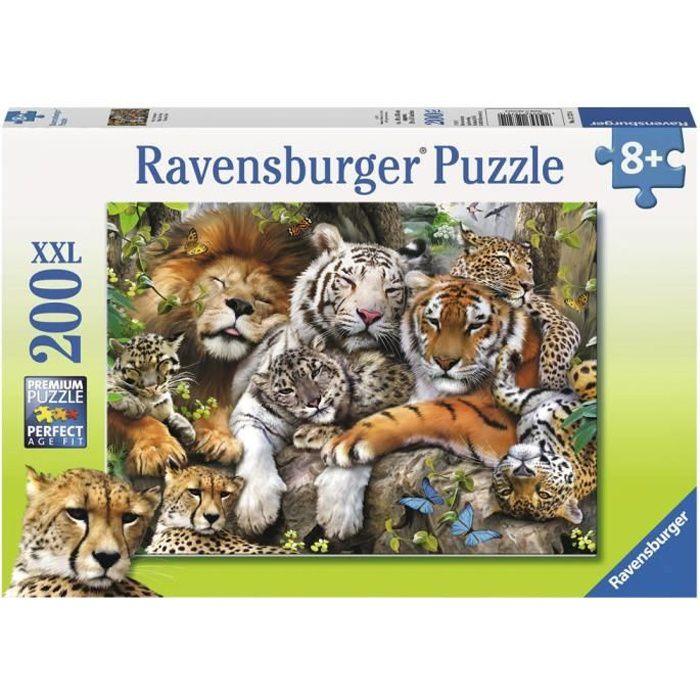 Puzzle 200 pièces XXL - Petit somme - Ravensburger - Puzzle Enfant 200 pièces - Dès 8 ans