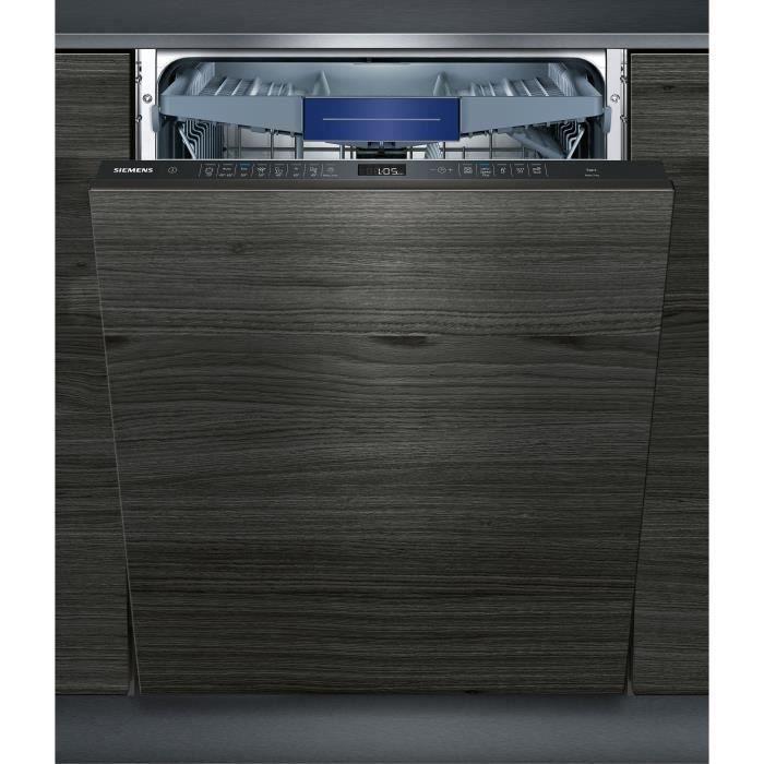 Lave-vaisselle tout intégrable SIEMENS SX658D02ME - 14 couverts - Largeur 60 cm - 42 dB