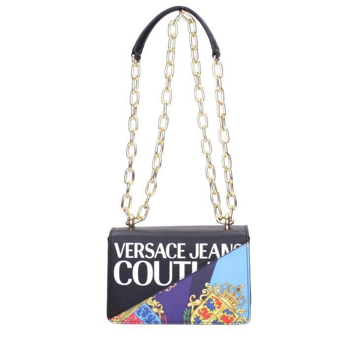 Versace jeans couture - Tracolla catena nero multi E1VZBBG371727M09