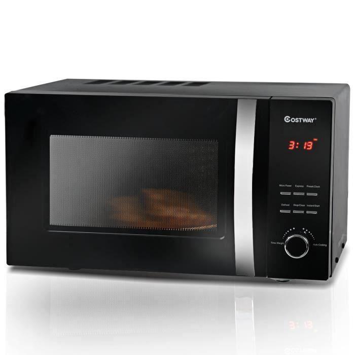 MICRO-ONDES Micro-ondes Grill 23L 800W 5 Niveaux de Puissance