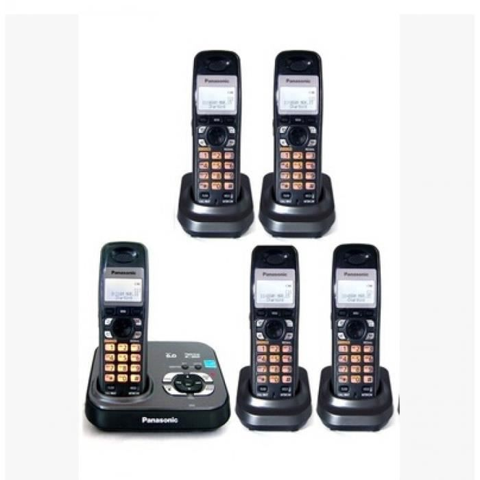 kx tg 9331 t dect 6 0 sans fil num rique extensible avec. Black Bedroom Furniture Sets. Home Design Ideas