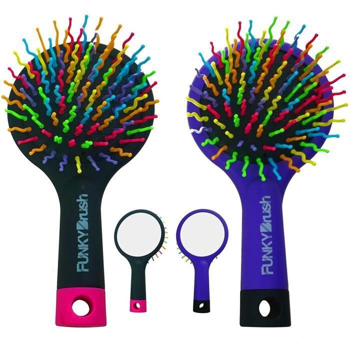 SUPVOX 3pcs cheveux cuir chevelu brosse b/éb/é massage du cuir chevelu masseur brosse /à r/écurer la t/ête avec poign/ée pour nouveau-n/é b/éb/é douche cadeau violet