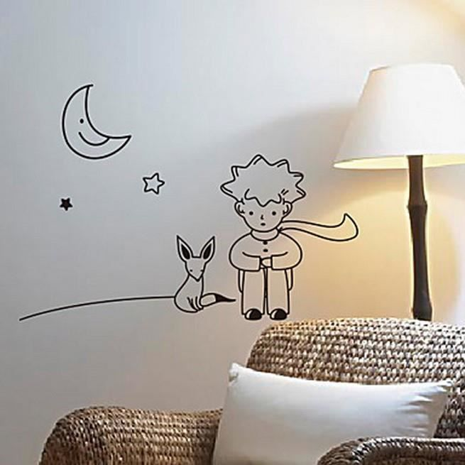 affiche murale le petit prince achat vente affiche poster cdiscount. Black Bedroom Furniture Sets. Home Design Ideas