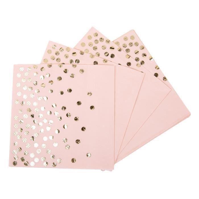 33x33 cm 3 Plis Papier Serviettes 29 COULEURS DECO Fête Papier Serviettes 20 St
