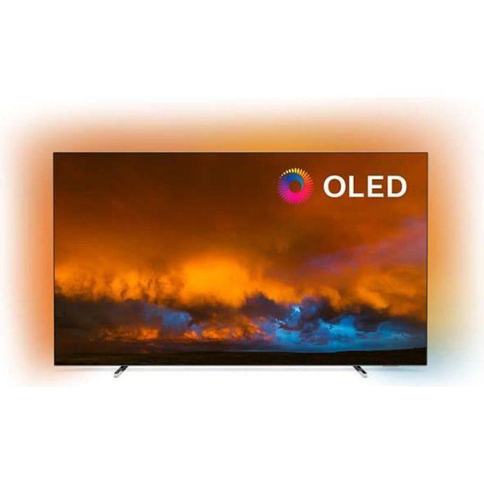 """Téléviseur LED PHILIPS 65OLED804 165cm (65"""") Téléviseur Ambilight"""