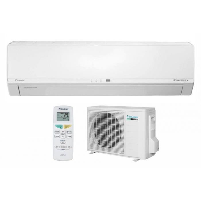 daikin ftxv25av1b rxv25av1b clim inverter 2650w a achat vente climatiseur daikin. Black Bedroom Furniture Sets. Home Design Ideas