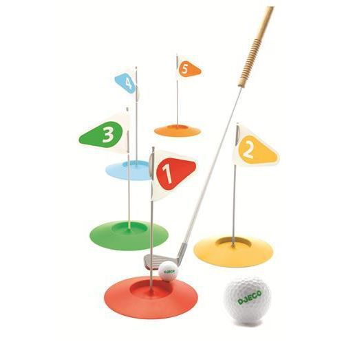 djeco jeu mini golf club enfant prix pas cher cdiscount. Black Bedroom Furniture Sets. Home Design Ideas