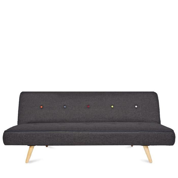 Canap convertible scandinave siri couleur ant achat vente canap so - Canape convertible couleur ...