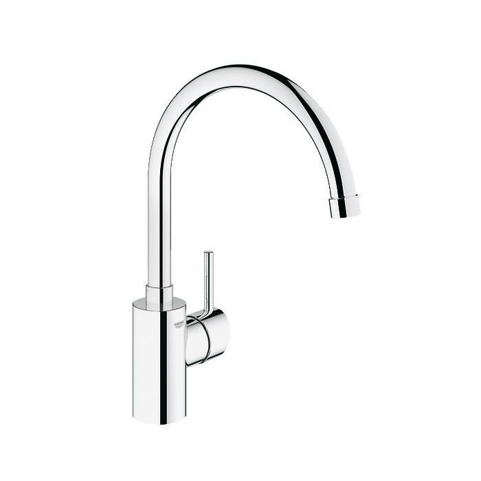 Mitigeur vier grohe concetto 32661 mousseur achat for Grohe evier cuisine