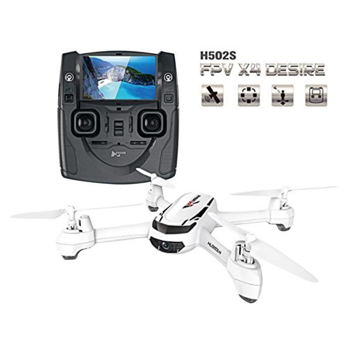 DRONE Hubsan H502S X4 GPS/FPV RTF 5,8 G 720p HD Caméra D