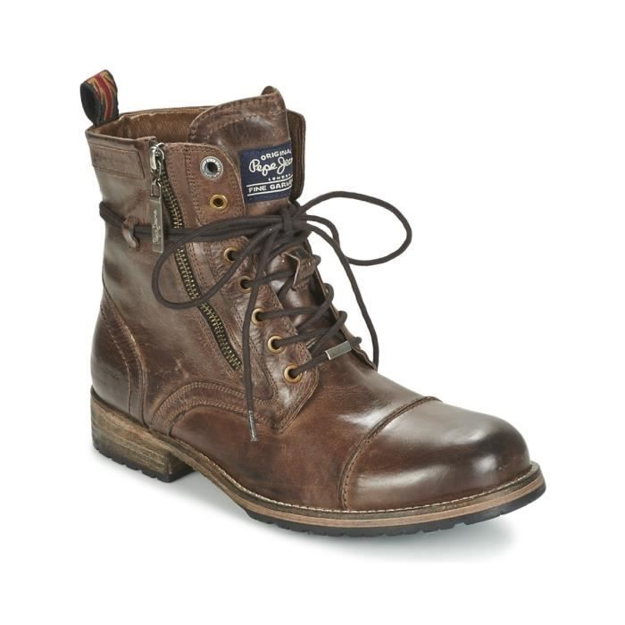 Bottines Melting marrons