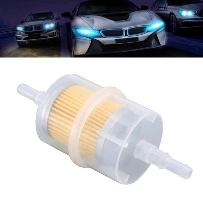 1 essence filtre carburant filtre préfiltre pour voitures Auto Moto 8mm//6mm