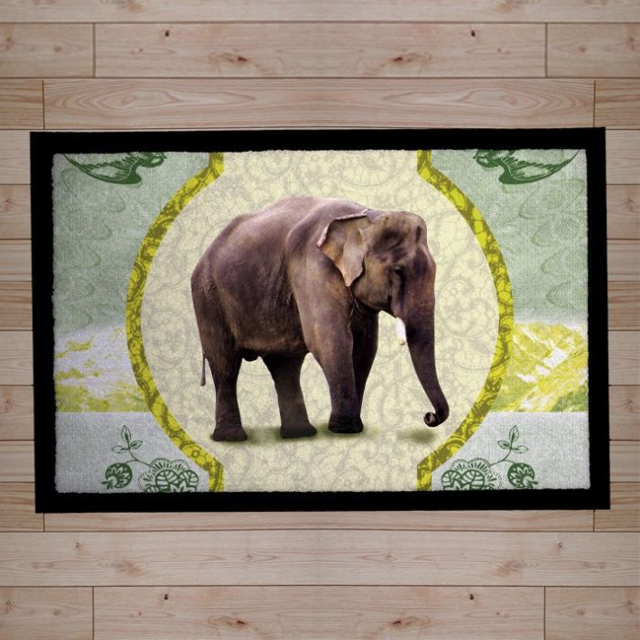 Paillasson absorbant iin outdoor elephant achat for Paillasson interieur design