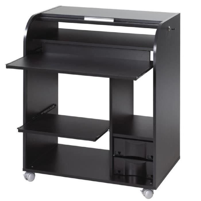 secretaire a rideau achat vente secretaire a rideau pas cher cdiscount. Black Bedroom Furniture Sets. Home Design Ideas