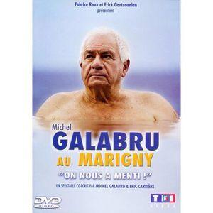 DVD SPECTACLE DVD Michel Galabru au Marigny : on nous a menti !