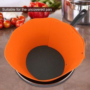 ANTI-PROJECTION  Protection de Pot de silicone Empêche la condensat