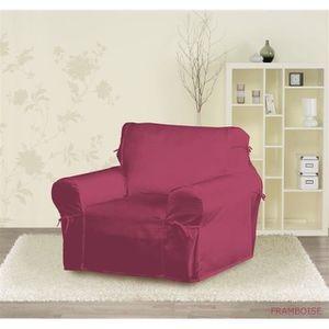 HOUSSE DE FAUTEUIL Housse de fauteuil framboise 60 x 90 x 90 cm