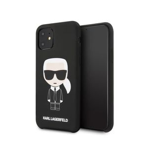 coque karl lagerfeld noir karl pour apple iphone 1