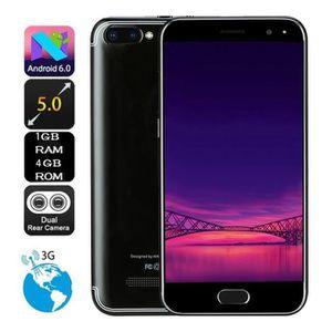 SMARTPHONE NOUVEAU 5.0 pouces Caméra HD double Android 6.0 1G