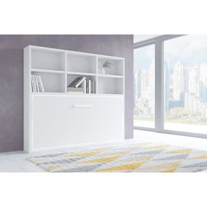 LIT ESCAMOTABLE JOY - Armoire lit escamotable horizontale 1 place-
