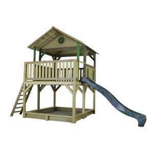 MAISONNETTE EXTÉRIEURE AXI maison enfant exterieur en bois Simba