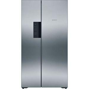 RÉFRIGÉRATEUR AMÉRICAIN BOSCH - KAN92VI35 - Réfrigérateur Américain - 604L