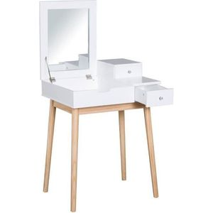 COIFFEUSE Coiffeuse design scandinave table de maquillage mu