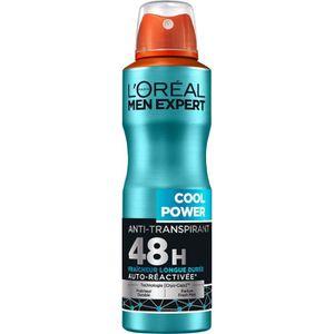 DÉODORANT L'ORÉAL MEN EXPERT Cool Power Déodorant Spray Homm