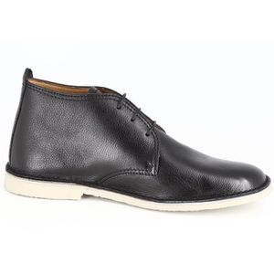 BOTTINE BELYM CHUKKA BOTTINE HOMME EN CUIR NOIR