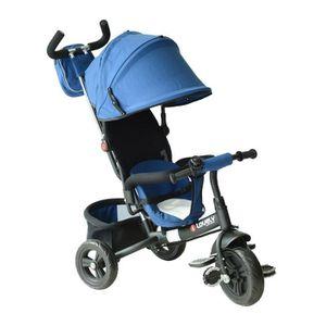 TRICYCLE Tricycle Enfants évolutif Canne parentale et Pare-