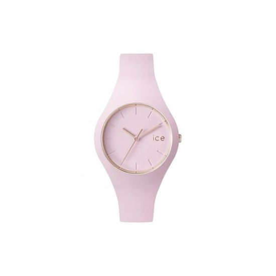 Montre Bracelet - ICE WATCH - Montre ICE GLAM PASTEL PINK LADY small 001065  - Achat   Vente montre Montre ICE GLAM PASTEL PINK - Cdiscount bae2b8ba42ab