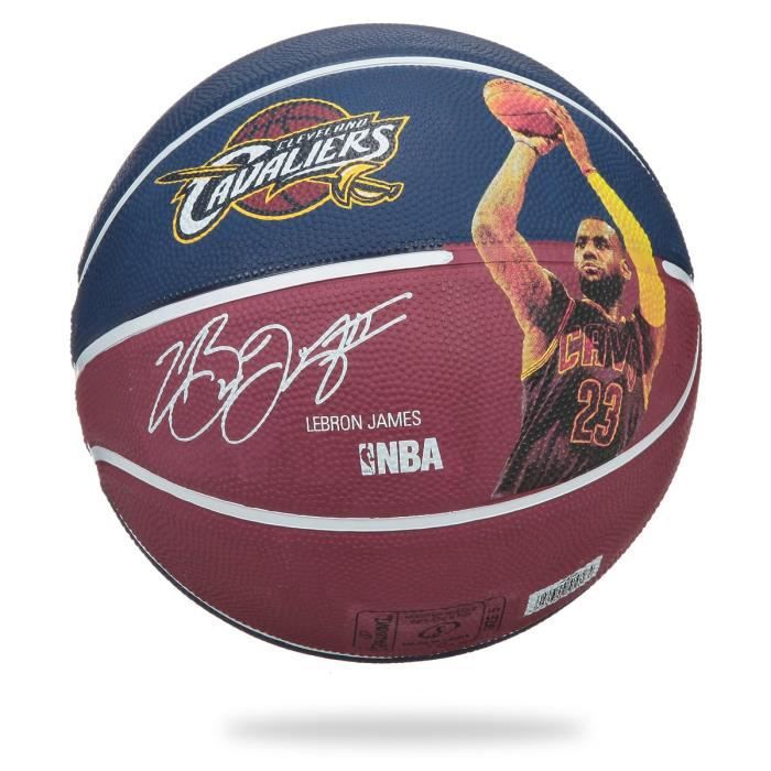 SPALDING Ballon de basket-ball NBA Lebron James