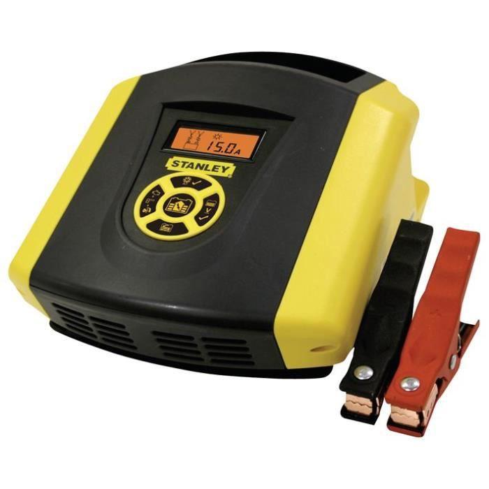 STANLEY Chargeur de batterie électronique 15A BC15E