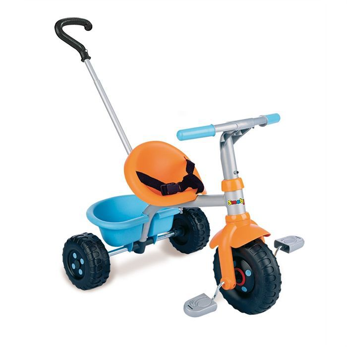smoby tricycle canne be fun orange achat vente tricycle smoby be fun orange cdiscount. Black Bedroom Furniture Sets. Home Design Ideas