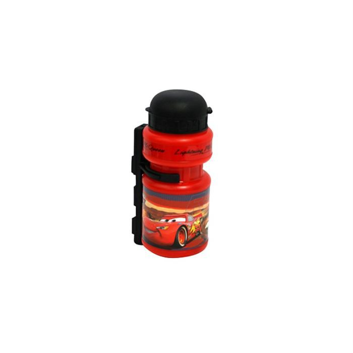 CARS Bidon + Porte-bidon - 330 ml